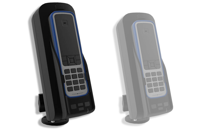 IsatDock Drive Docking Station image: Docking station for IsatPhone Pro